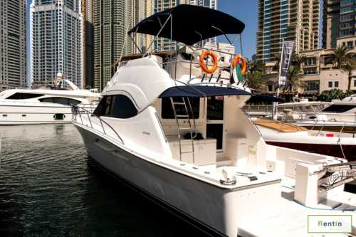 47FT yacht rental in Dubai