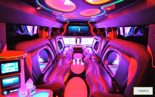 Rent a Hummer H2 limo in Dubai