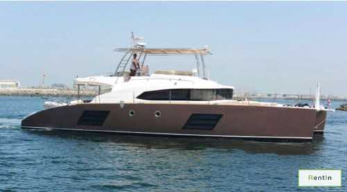 Catamaran for rent in Dubai