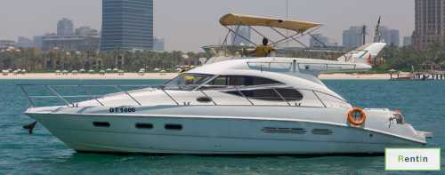 45 ft yacht for rent in Dubai