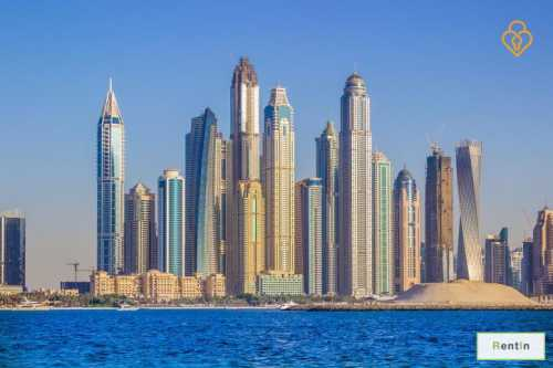 Two Bedroom apartment for rent in Dubai Marina