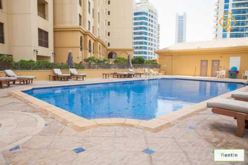 JBR Shams 2 bed apartment marina view