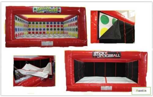 Triple Twist inflatable games rentals