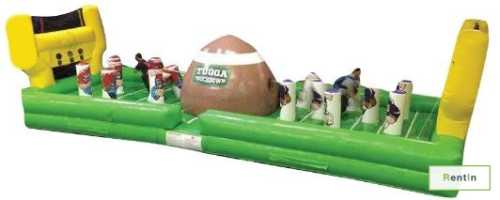 Tugga Touchdown inflatable game for rent