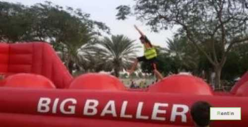 Big inflatable baller for rent in Dubai