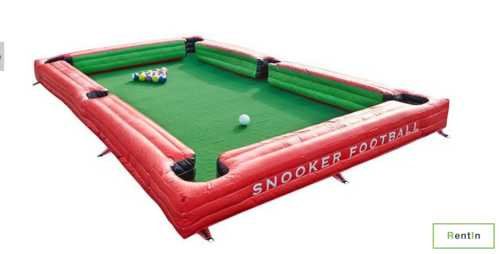 Inflatable snooker football for rent in Dubai
