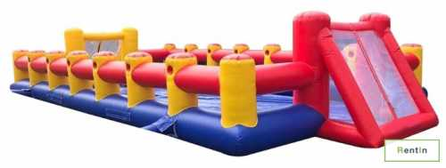 Inflatable human foosball game for rent