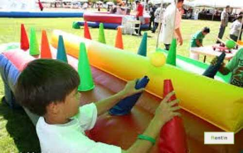 Floating Ball race inflatable game