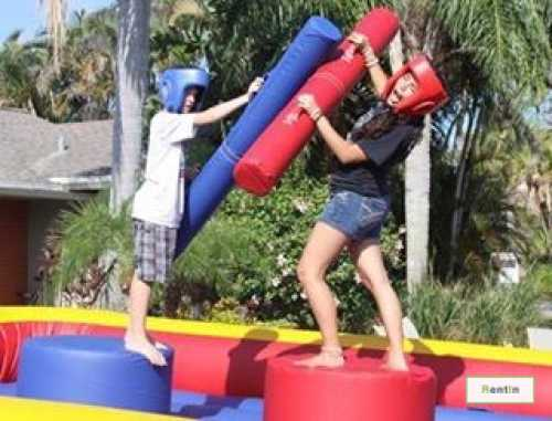 Jousting Inflatable game for rent