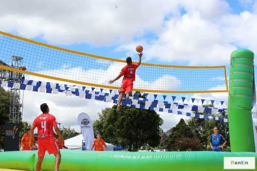 Flying Volley Ball game rental