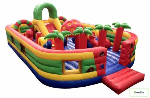 Indoor bounce house for rent in Dubai