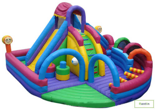 Fun city inflatable bounce house
