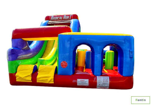 The radical run inflatable bouncy