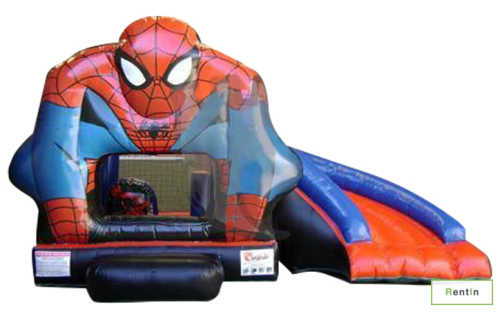 Spider man bouncy castle for rent