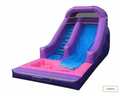 Purple wave slide for rent