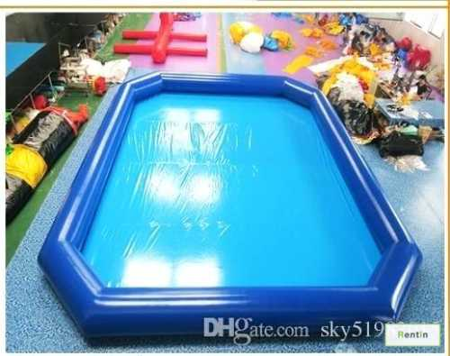 Inflatable swimming pool rental