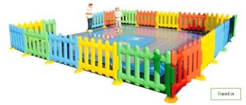 Rent kids play party equipment – activities fence