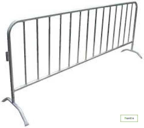 Steel fences rental