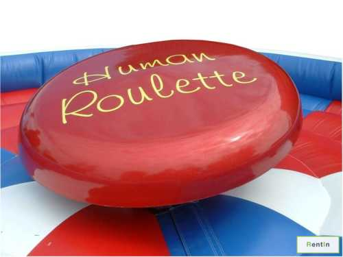 Human Roulette game rental