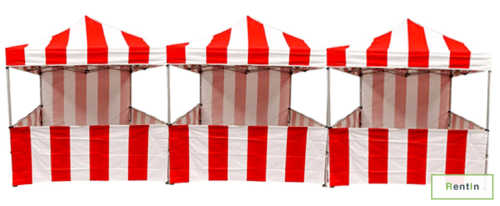 Classic carnival tent for rent