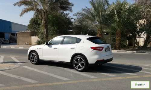 Maserati levante hire in Dubai