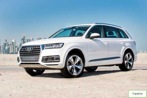 Audi q7 for rent in Dubai