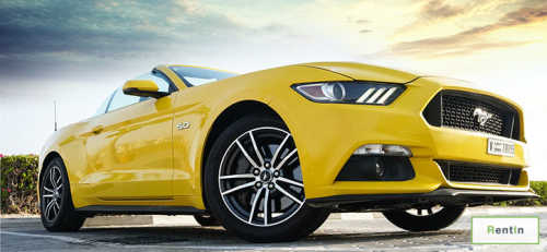 Rent FORD MUSTANG GT convertible Dubai