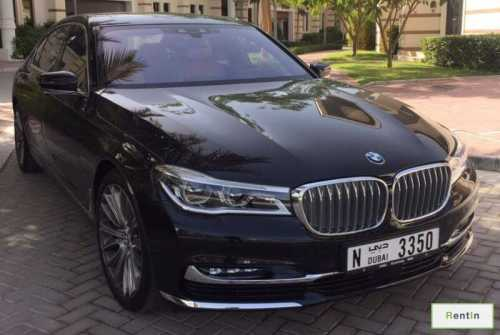 Rent bmw 7 series Dubai