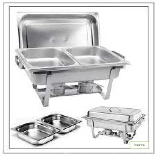 CHAFING DISH-DOUBLE INSERT