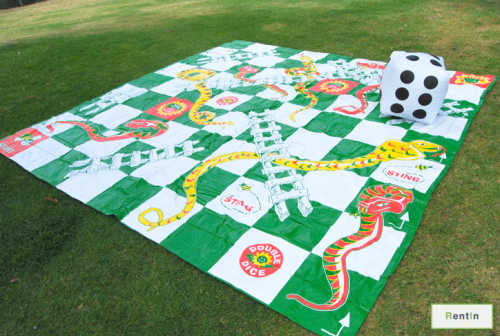 Giant Snakes And Ladders for rent