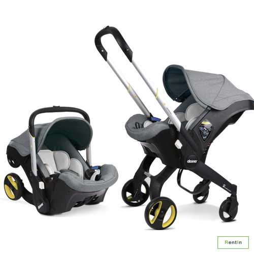 Rent Carseat (Doona + Infant) and Stroller in Dubai
