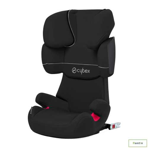 Cybex Silver Solution x-fix car seat rental in Dubai