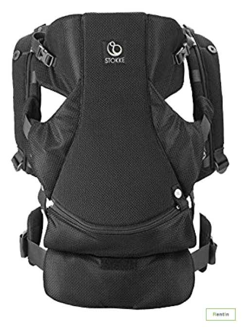 Hire STOKKE CARRIER BLACK (Newborn to 4 years)