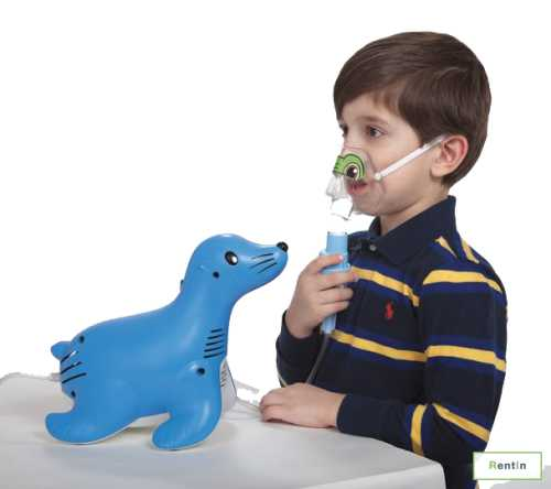 Sami The Seal Nebulizer By Philips (with disposable mask) for rent in Dubai
