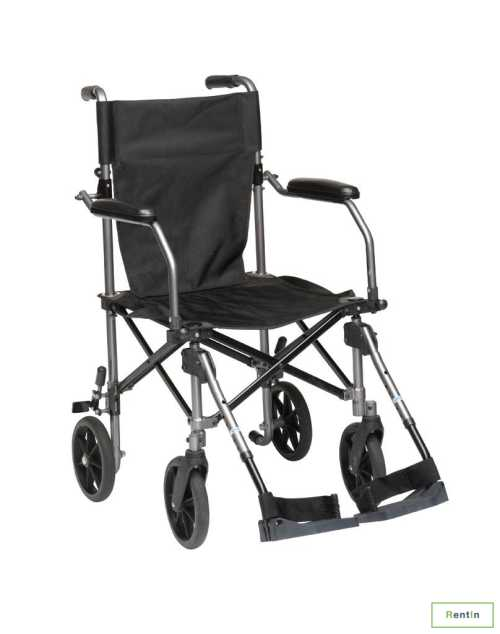 Drive Medical Travelite Transport Wheelchair Chair in a Bag for rent in Dubai