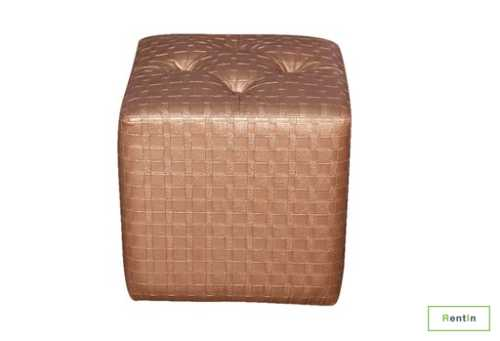 Single Gold Ottoman