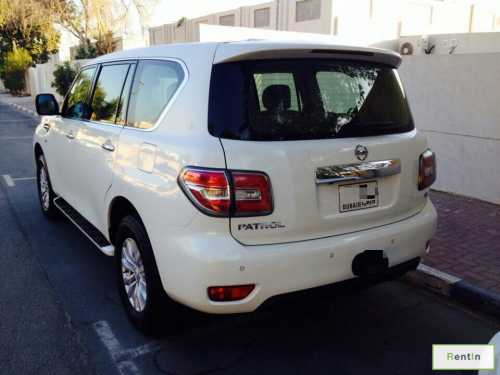 Nissan Patrol 2014 for rent in Dubai