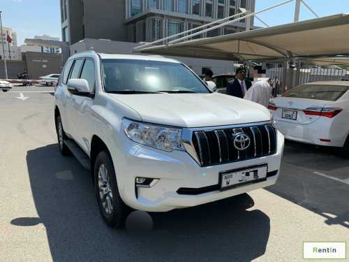 Toyota Land Cruiser Prado 2019 for rent Sharjah