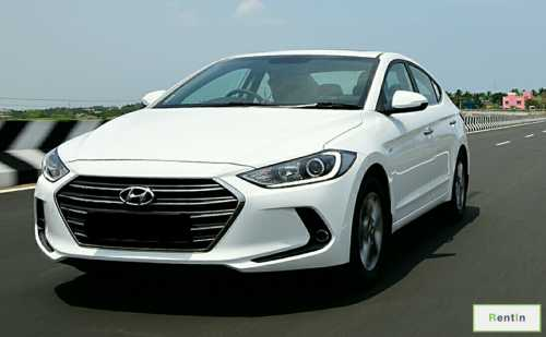 Hyundai Elantra 2016 for rent Ajman