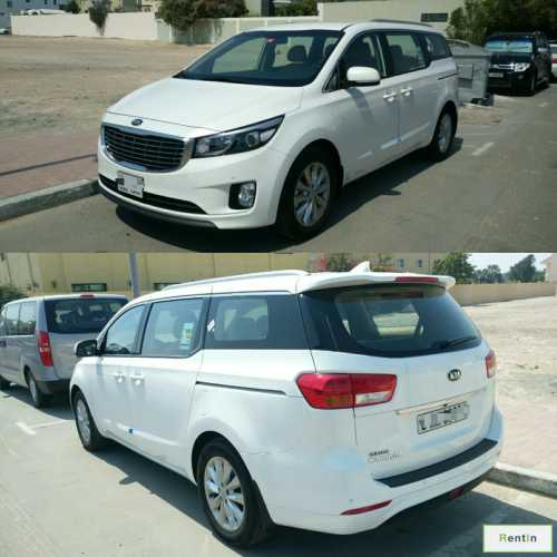 Kia Carnival 2018 for rent in Ajman