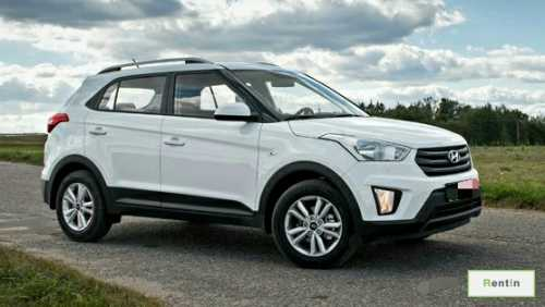 Hyundai Creta for rent in Sharjah