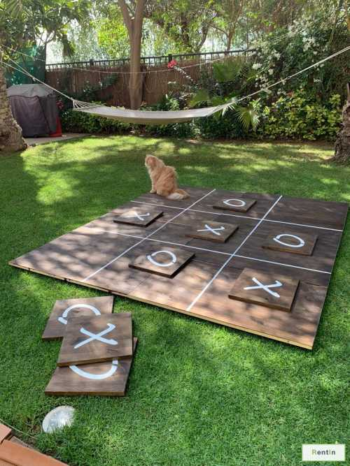 Giant XO game for rent Dubai