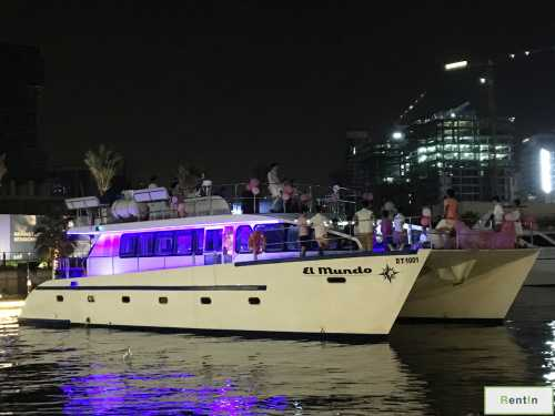 El Mundo Dubai Catamaran for rent