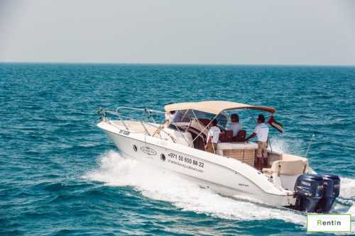 Rent a fishing boat in dubai - Key Largo 30