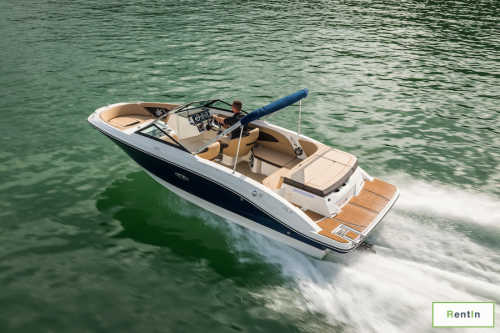 Fishing boat for rent - Sea Ray 22 feet - Jet Engine