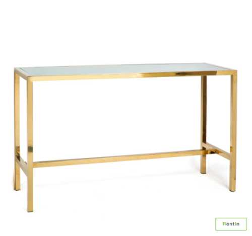 GOLD HIGH TABLE
