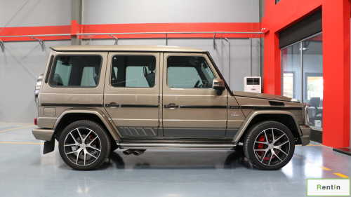 Mercedes G63 AMG for rent