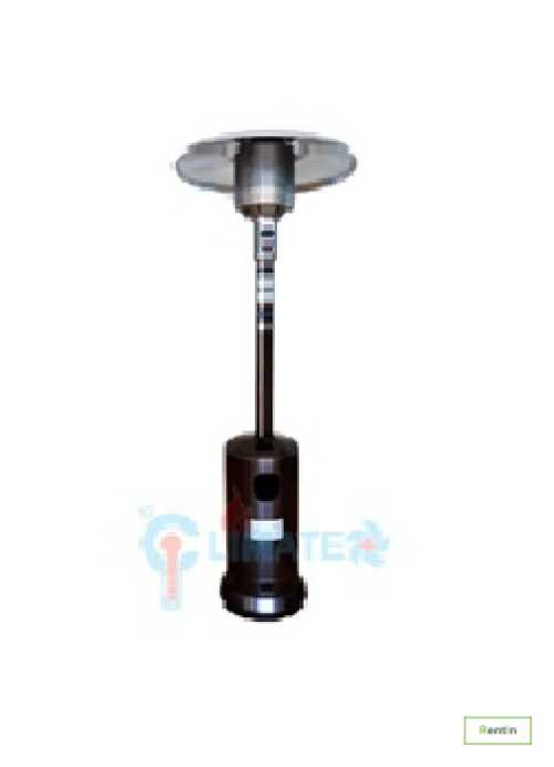 Mushroom Patio Heater-Golden Hummered