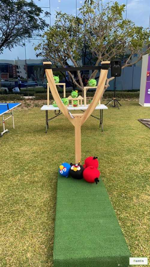 Slingshot angry birds for rent