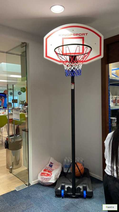 Basketball hoop for rent
